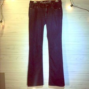Madewell Jeans 27x34 Bootlegger